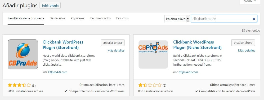 Cbproads affiliate wordpress plugin