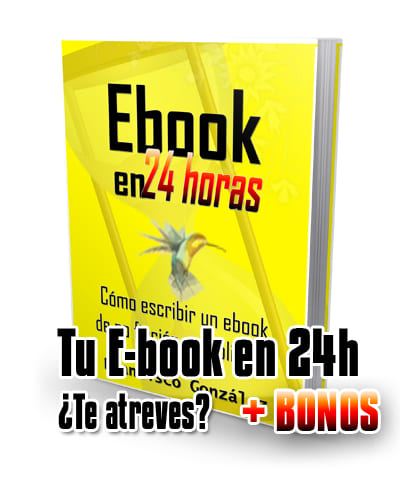 Tu ebook en 24 Horas